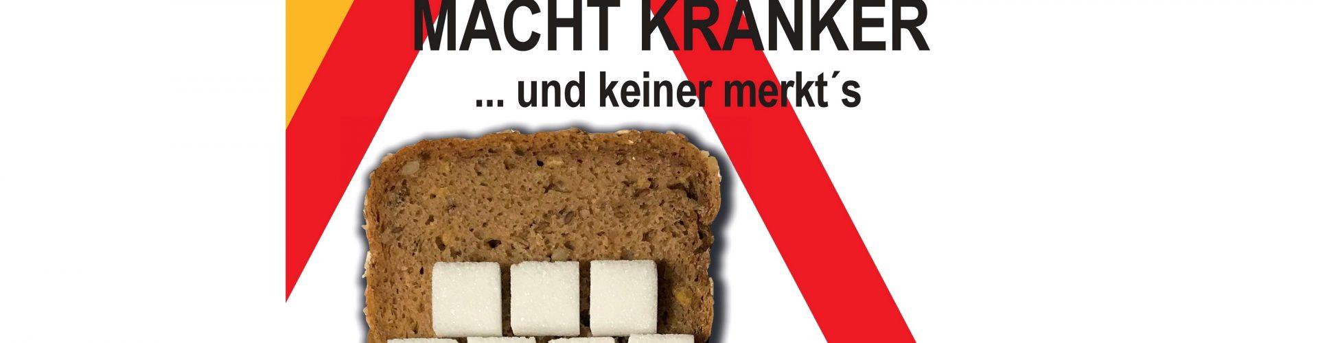 Buchrezension: Klaus Wührer – Zucker macht krank –  Vollkorn macht kränker  … und keiner merkt's