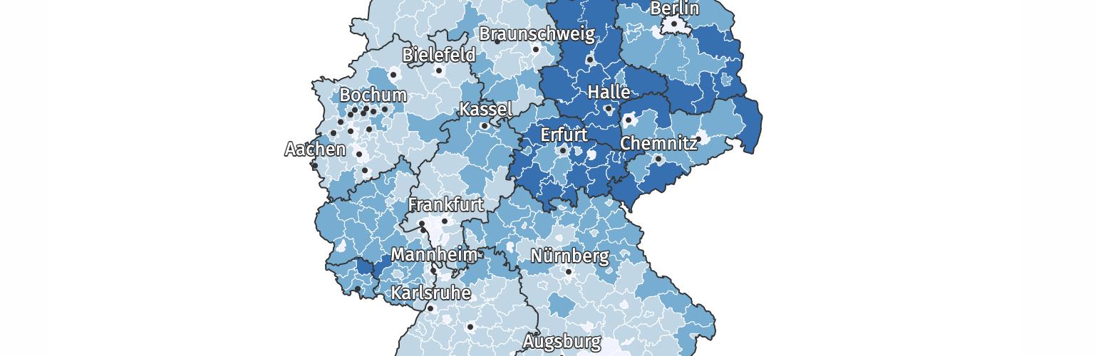 Corona Pandemie: Deutschlands Bevölkerung im Jahr 2020 erstmals seit 9 Jahren nicht gewachsen