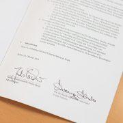 Zielvereinbarung für Moorbodenschutz unterzeichnet